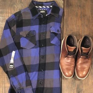 Vans off the Wall - Men's button down flannel
